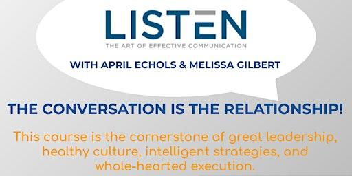 6 HR CE 'Listen: The Art of Effective Communication'
