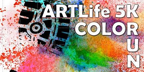 ARTLife 5K Color Run and Kids Art Festival tickets