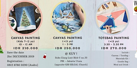 CANVAS PAINTING WORKSHOP for Kids tickets