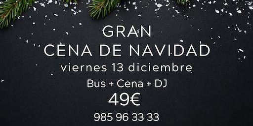 GRAN CENA DE NAVIDAD | CASTILLO DE LA ZOREDA | OVIEDO | Viernes 13-dic-19