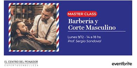 Masterclass: Barberia y Corte Masculino entradas