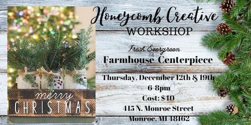 Copy of Farmhouse Christmas Centerpiece