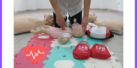 Curso de Primeros Socorros, RCP y DEA Niños y Adultos*Dra.Nora Zonis * 8/1 entradas