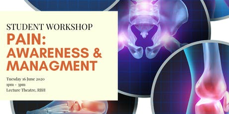 Workshop - Pain Awareness and Management tickets