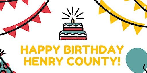 Henry County Birthday Celebration