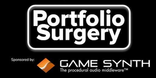 Game Audio North - Portfolio Surgery - TusPark Newcastle Eagle Lab