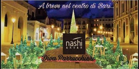 Inaugurazione Nashi Argan Store in Store by  Diva Parrucchieri biglietti