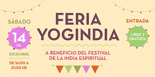 Feria Yogindia - 14 de diciembre 2019