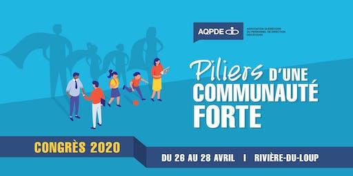 Congrès 2020 de l'Association québécoise du personnel de direction des écoles
