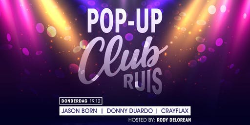 POP UP - AFTERPARTY (16+) - Club Ruis