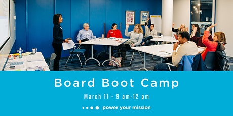 Board Boot Camp - March 11, 2020 tickets
