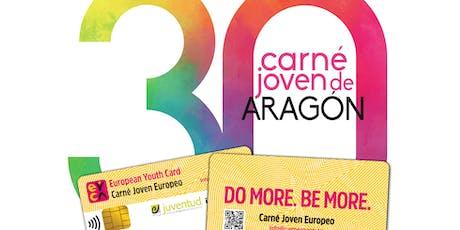 Ceremonia de clausura del 30 aniversario del Programa Carné Joven Europeo entradas