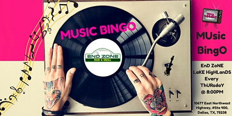 MUsic BingO at EnD ZoNE LaKE HigHLanDS tickets