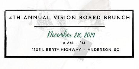 4th Annual Vision Board Brunch tickets