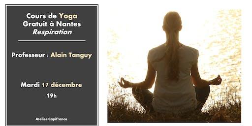 Cours de Yoga gratuit - Relaxation