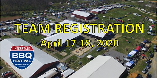 Interstate BBQ Festival 2020 Team Registration