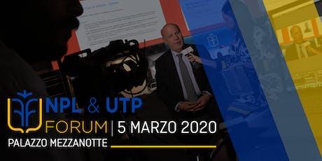 NPL & UTP Forum biglietti