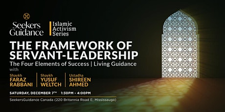 The SeekersGuidance Islamic Activism Certificate [in-person] tickets