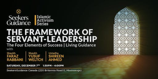 The SeekersGuidance Islamic Activism Certificate [in-person]