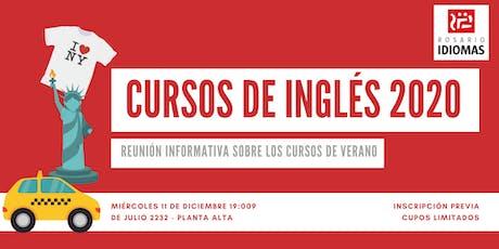 Cursos de Inglés de verano en Rosario Idiomas - Reunión Informativa entradas