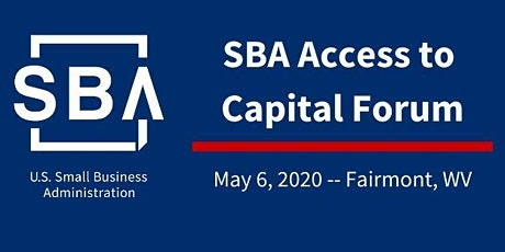 SBA Access to Capital Forum - May 2020 tickets