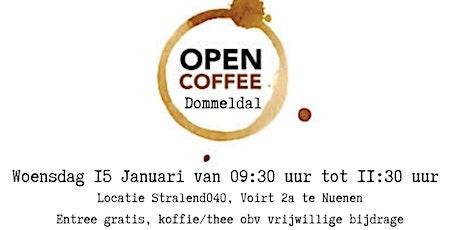 Netwerkbijeenkomst Open Coffee Dommeldal tickets