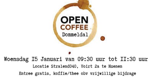Netwerkbijeenkomst Open Coffee Dommeldal