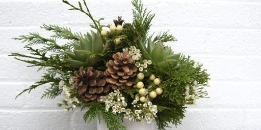 Holiday Centerpieces at Tartine with Alice's Table