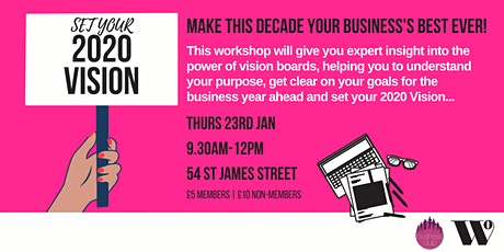 Business Club - Set Your 2020 Vision! tickets