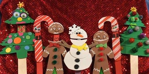 Holiday Pop-up Puppet workshop