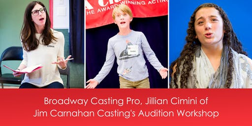 Roundabout Theatre Co/ Jim Carnahan Casting Associate, Jillian Cimini's Musical Theatre Audition Workshop