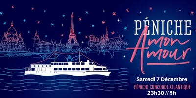 ★International Boat Party / Samedi 7 décembre / Concorde Atlantique ★