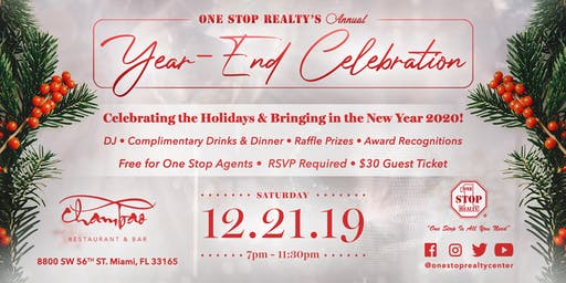 ONE STOP REALTY Year-End Celebration | Holiday Party