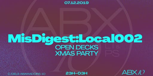 MisDigest:Local002 OPEN DECKS XMAS PARTY
