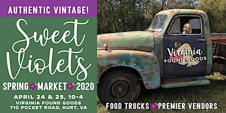 Sweet Violet's Vintage Market tickets