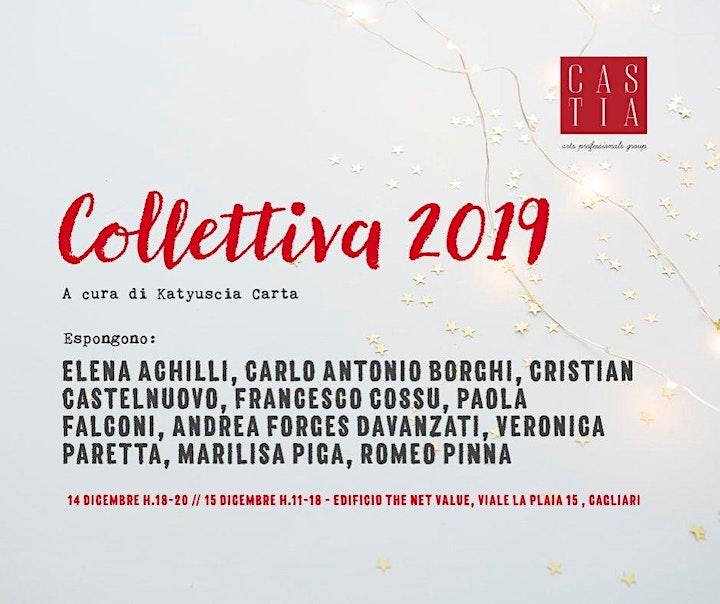 Immagine COLLETTIVA 2019, mostra degli artisti di Castia Art