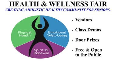 New Year, New You!  Holistic Health & Wellness Fair 2020