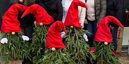 Christmas Porch Gnome Workshop