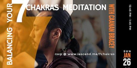 Balancing Your 7 Chakras Meditation tickets
