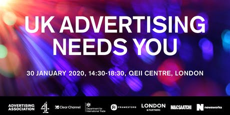 UK Advertising Needs You tickets