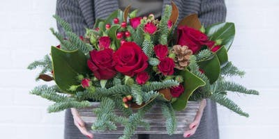 Ho Ho Holiday Flowers with Alices Table