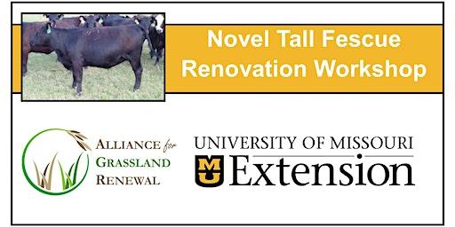 Missouri Novel Tall Fescue Renovation Workshop