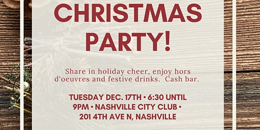 Davidson County Republican Party Christmas Event