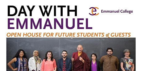 Day With Emmanuel - Open House tickets