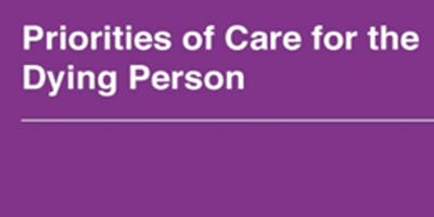 Priorities of Care for the Dying Person