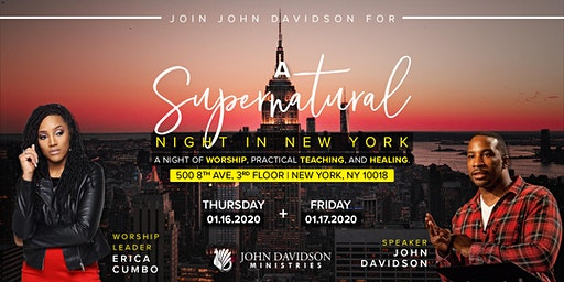 A Supernatural Night in New York!