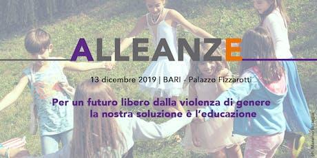 Alleanze - un presidio SAFE a Bari biglietti