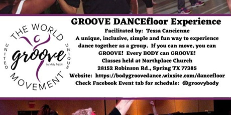 The Body GROOVE DANCEfloor Experience - The Dance Class For Every BODY! tickets