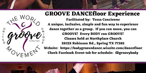 Body GROOVE DANCEfloor Experience - The Dance Class For Every BODY!