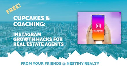 Cupcakes & Coaching: Instagram Growth Hacks for Real Estate Agents tickets